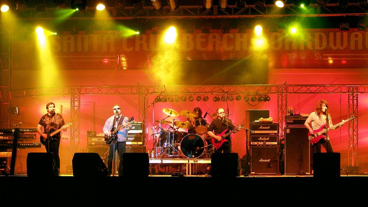 BLUE oYSTER CULT progressive rock hard guitar guitars concert concerts drum drums microphone wallpaper