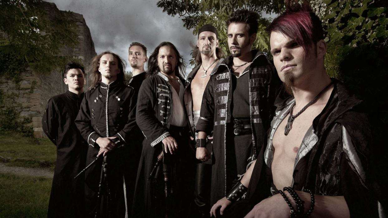SALTATIO MORTIS medieval metal heavy  f wallpaper