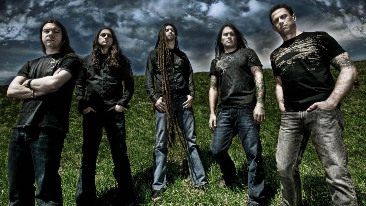 SHADOWS FALL thrash metal heavy metalcore w wallpaper