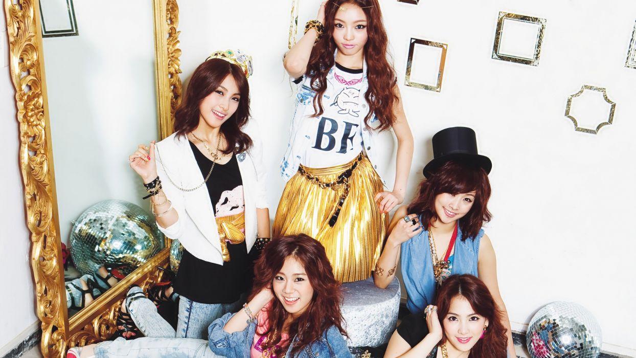 KARA k-pop-pop bubblegum dance       g wallpaper
