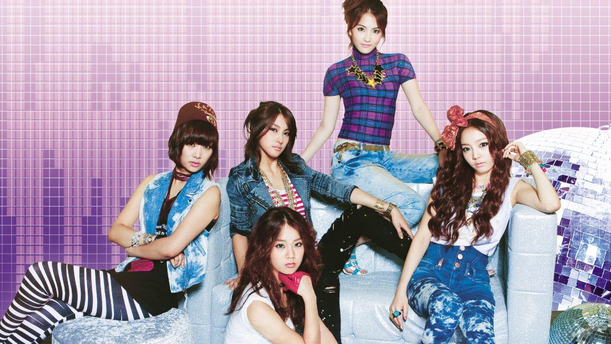 KARA k-pop-pop bubblegum dance   r wallpaper