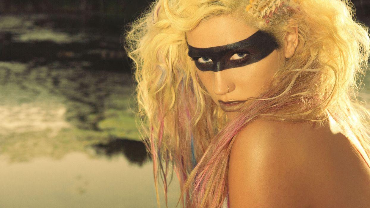 KESHA pop hip hop electronic dance women blonde blondes      g wallpaper