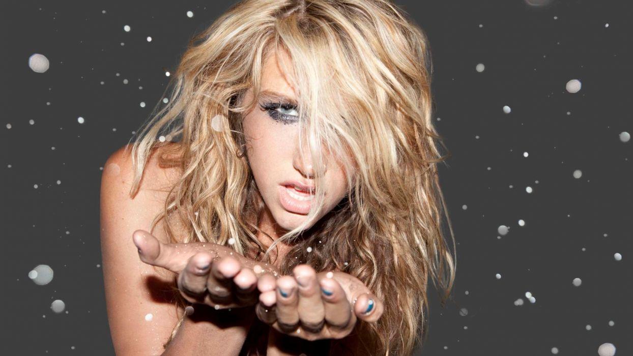 KESHA pop hip hop electronic dance women blonde blondes q wallpaper