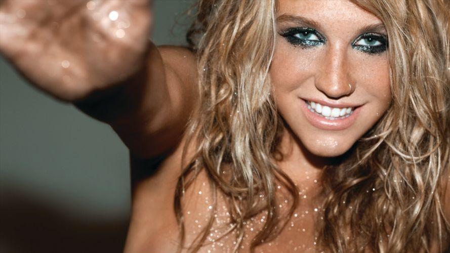 KESHA pop hip hop electronic dance women blonde blondes wallpaper