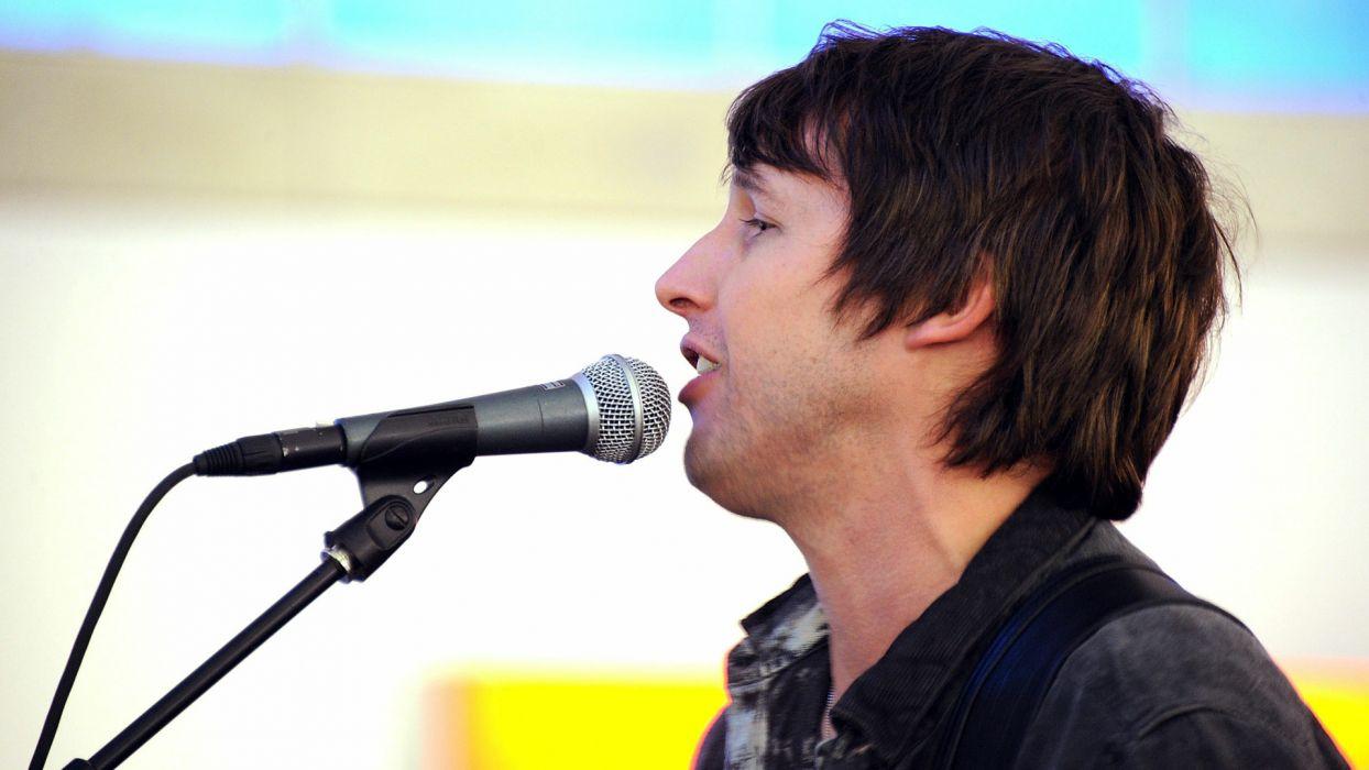 JAMES BLUNT pop rock folk microphone concert concerts  g wallpaper
