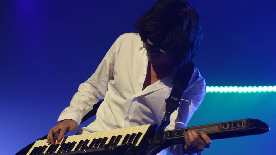 Jean Michel Jarre Ambient New Age Electronic Early trance Progressive rock keyboard concert concerts wallpaper