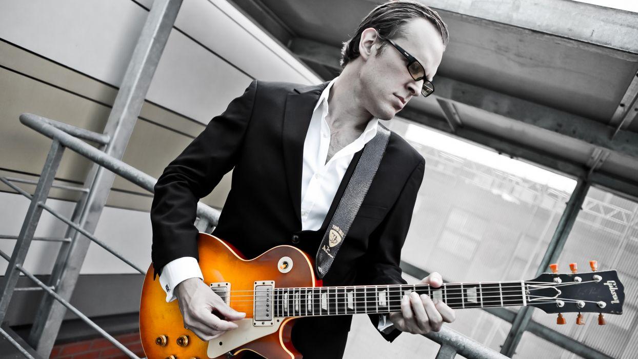 JOE BONAMASSA blues rock roll guitar guitars wallpaper