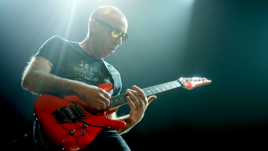 JOE SATRIANI instrumental rock hard heavy metal guitar guitars concert concerts y wallpaper