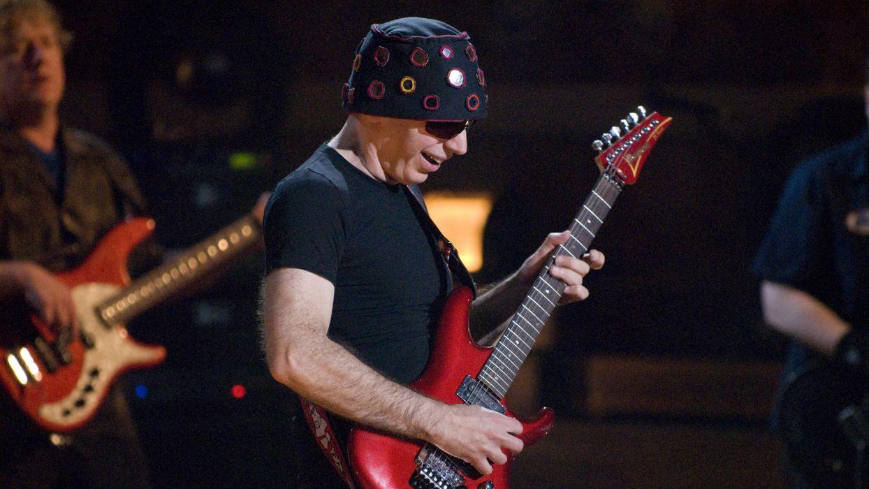 JOE SATRIANI instrumental rock hard heavy metal guitar guitars concert concerts  t wallpaper