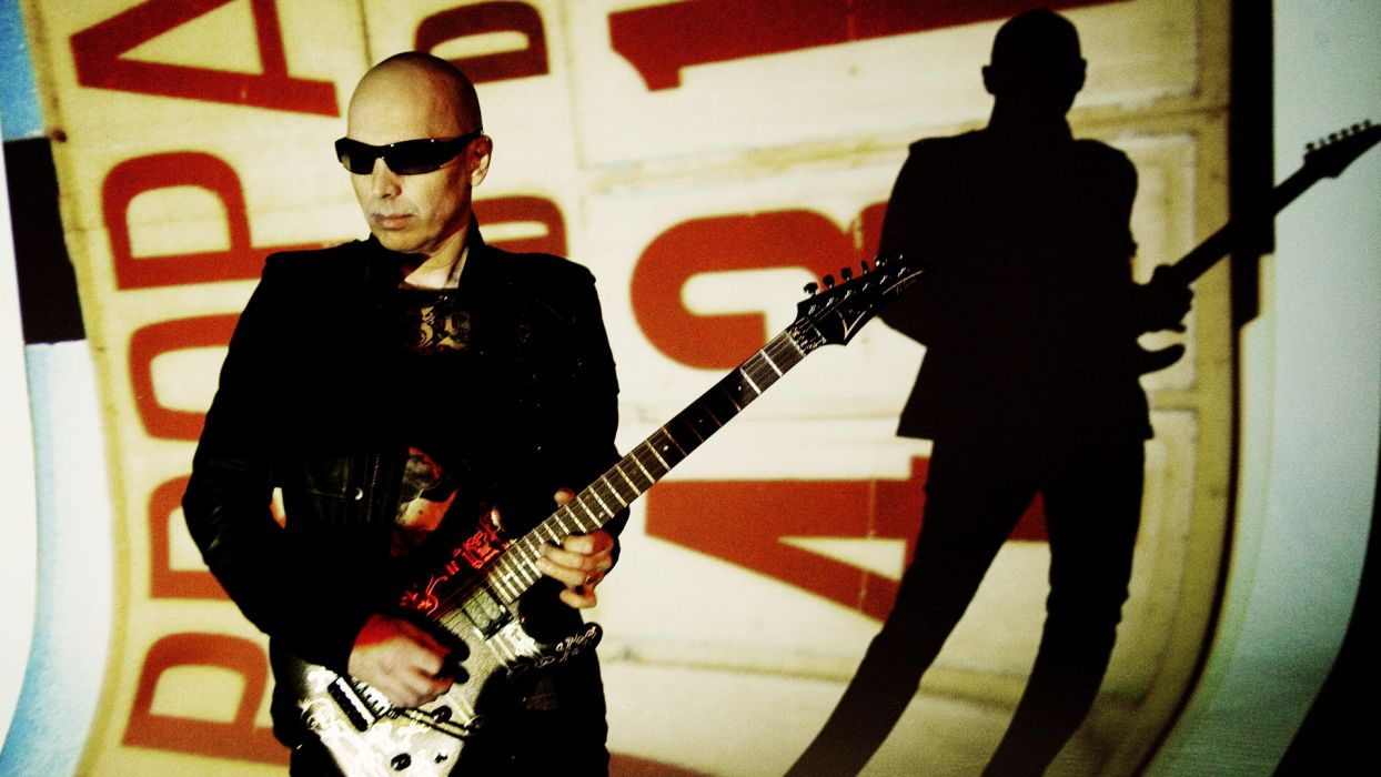 JOE SATRIANI instrumental rock hard heavy metal guitar guitars wallpaper