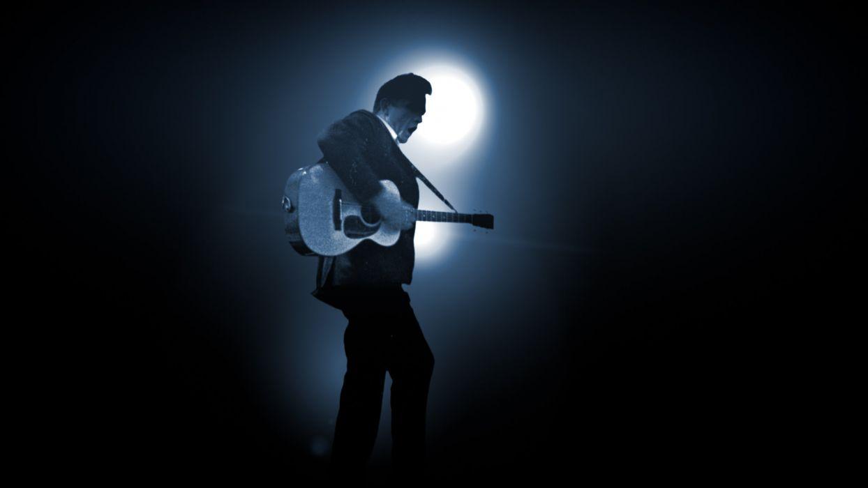JOHNNY CASH country gospel rock roll guitar guitars concert concerts wallpaper