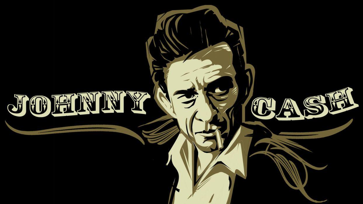 JOHNNY CASH country gospel rock roll wallpaper