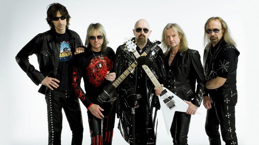 JUDAS PRIEST classic heavy metal guitar guitars wallpaper