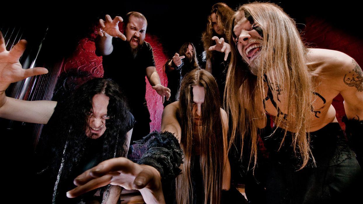FINNTROLL viking folk black metal heavy    f wallpaper