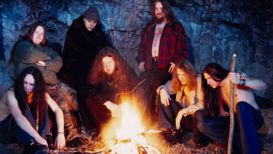 FINNTROLL viking folk black metal heavy D wallpaper