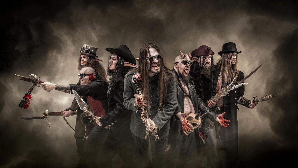FINNTROLL viking folk black metal heavy   z wallpaper