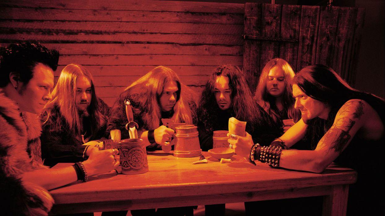 FINNTROLL viking folk black metal heavy wallpaper