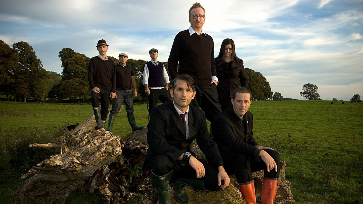 FLOGGING MOLLY celtic folk punk rock wallpaper