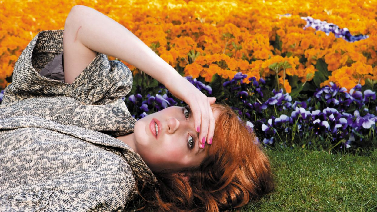 FLORENCE AND THE MACHINE indie rock   d wallpaper