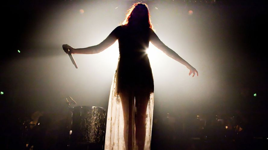 FLORENCE AND THE MACHINE indie rock concert concerts microphone f wallpaper