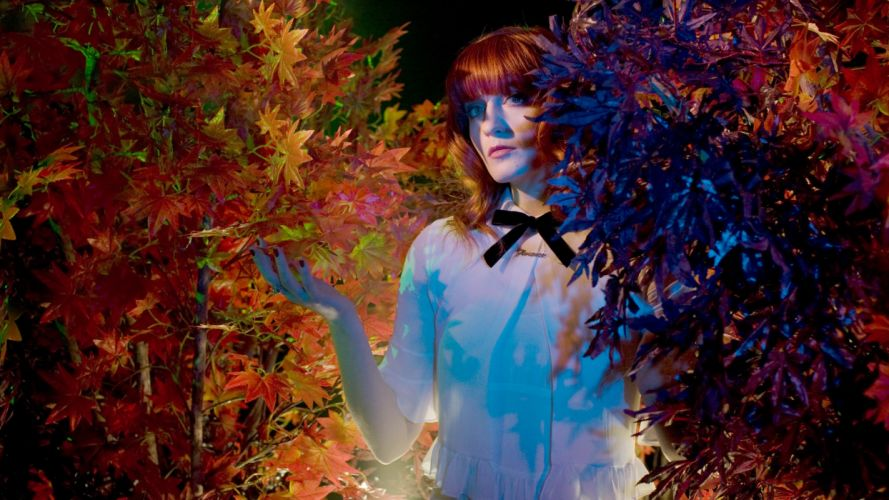 FLORENCE AND THE MACHINE indie rock wallpaper