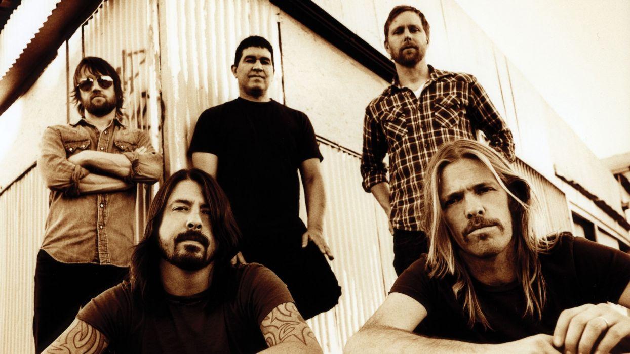 FOO FIGHTERS alternative rock post-grunge hard   fs wallpaper