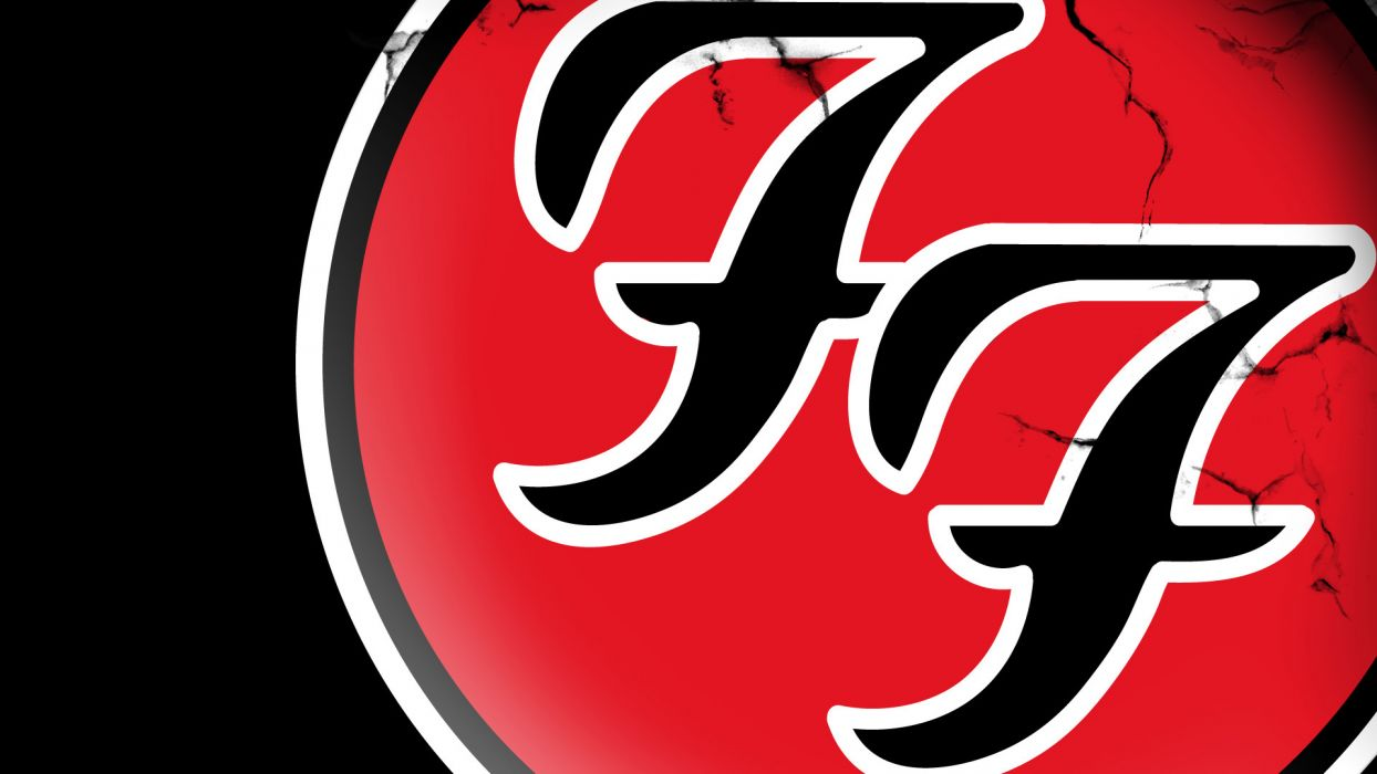 FOO FIGHTERS alternative rock post-grunge hard logo wallpaper