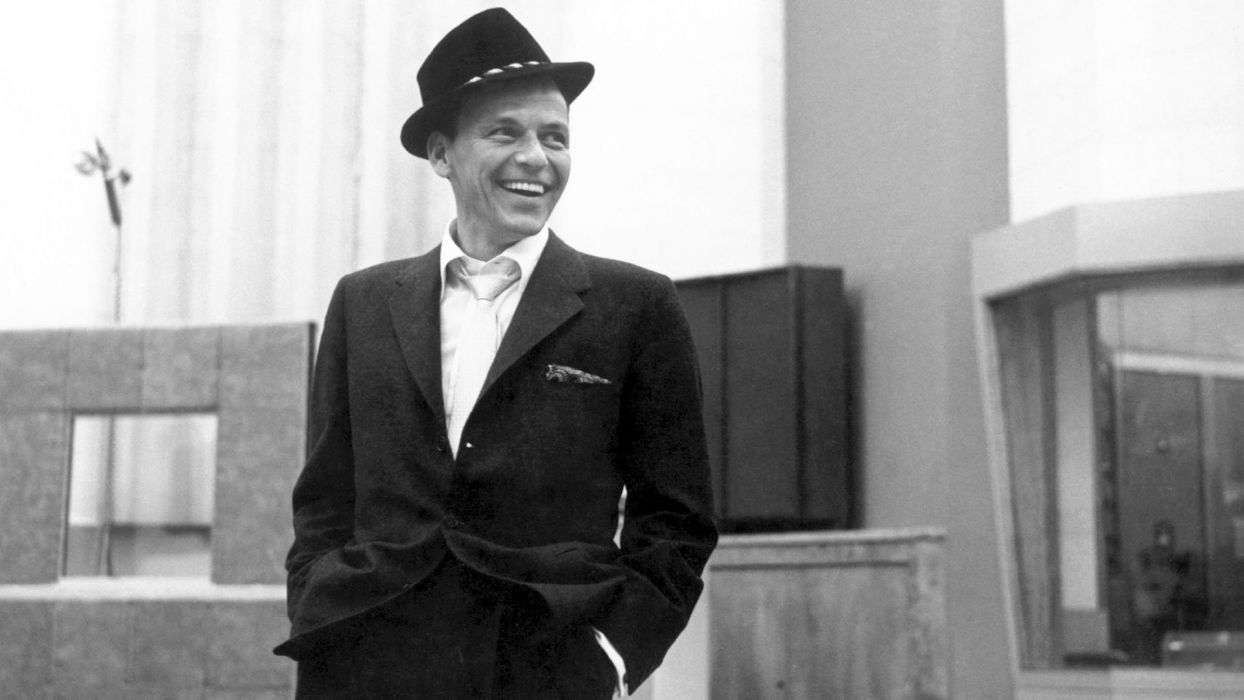 FRANK SINATRA traditional pop jazz swing big-band vocal   d wallpaper