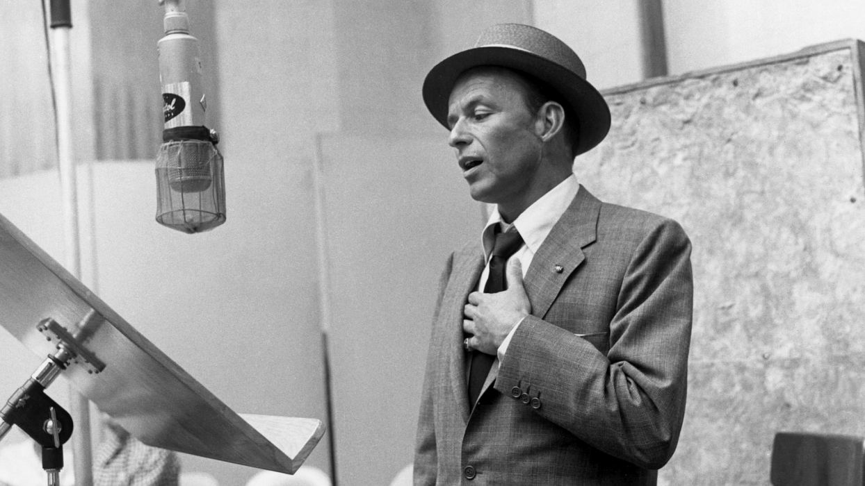 FRANK SINATRA traditional pop jazz swing big-band vocal wallpaper
