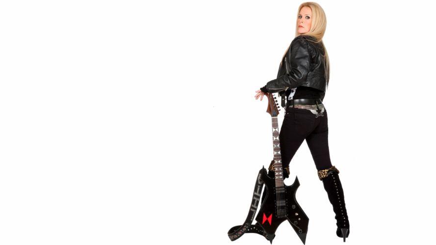 LITA FORD heavy metal hard rock guitar guitars q wallpaper