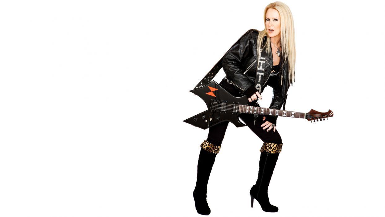 LITA FORD heavy metal hard rock guitar guitars wallpaper