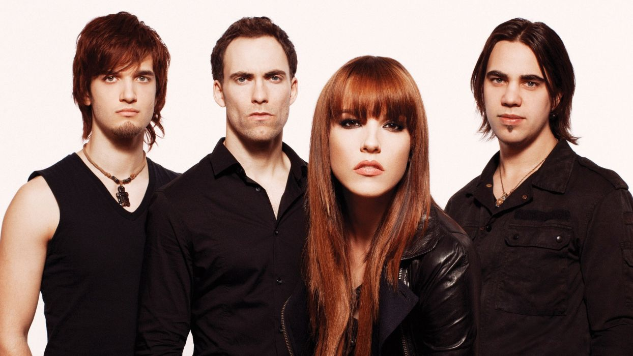 HALESTORM Hard rock alternative-rock alternative-metal alternative   f wallpaper