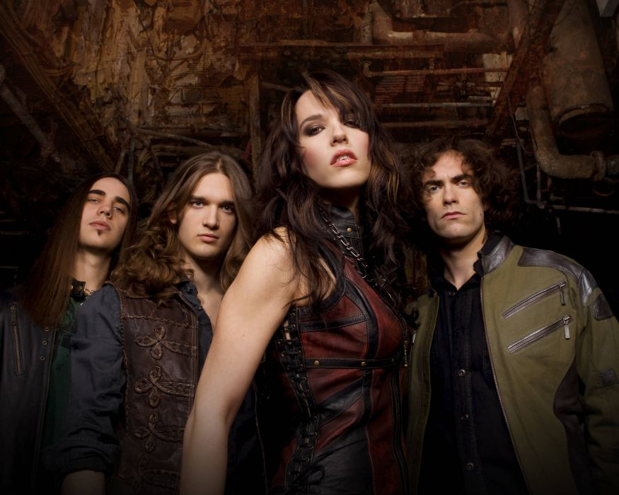 HALESTORM Hard rock alternative-rock alternative-metal alternative lizzy   f wallpaper