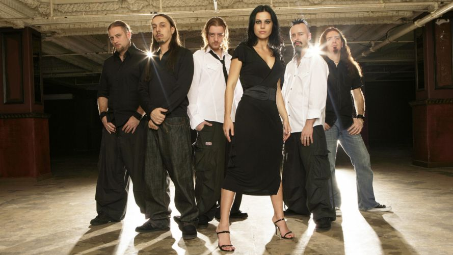 LACUNA COIL Cristina Scabbia hard rock f wallpaper