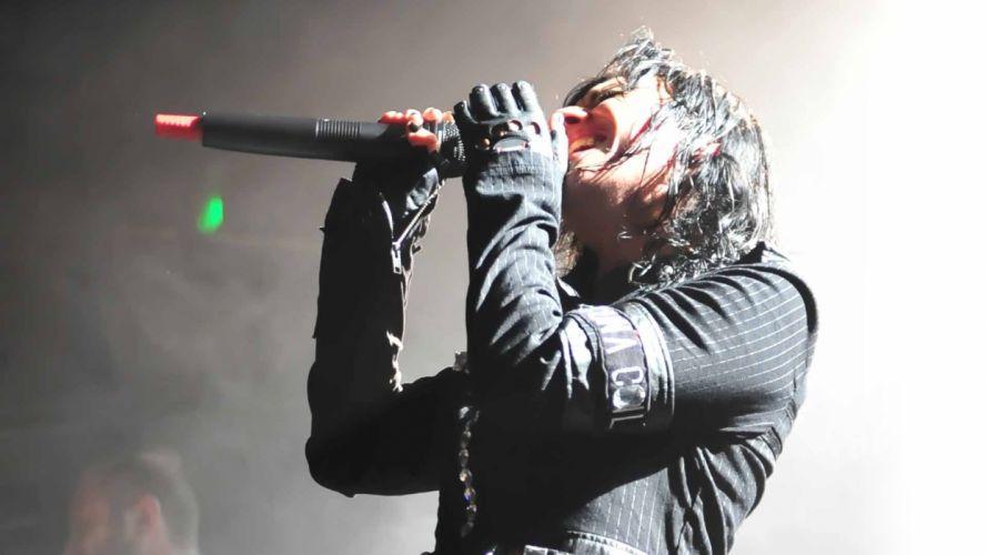LACUNA COIL Cristina Scabbia hard rock microphone concert concerts f wallpaper