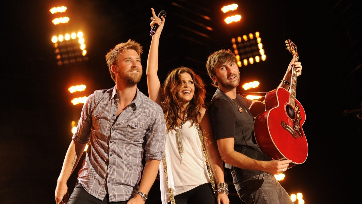 LADY ANTEBELLUM country country-pop guitar concert guitars concerts  f wallpaper