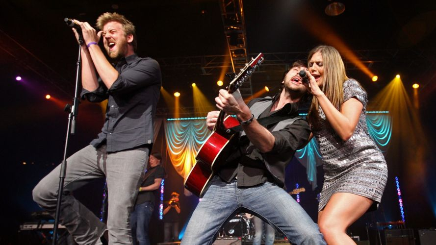 LADY ANTEBELLUM country country-pop guitar concert guitars concerts wallpaper