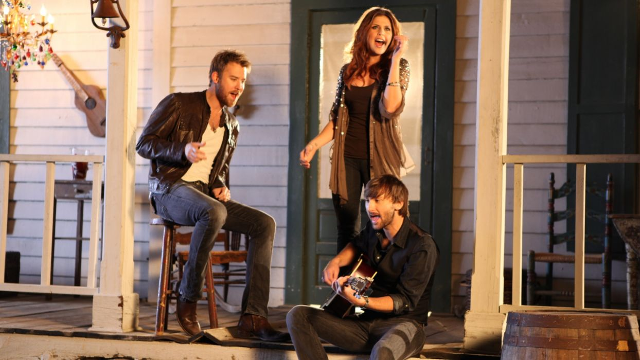LADY ANTEBELLUM country country-pop guitar guitars  ff wallpaper