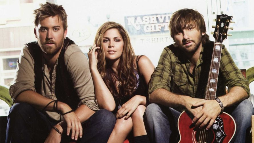 LADY ANTEBELLUM country country-pop guitar guitars wallpaper
