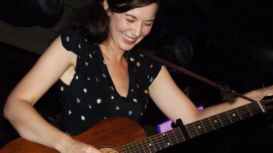 LISA HANNIGAN indie folk guitar guitars w wallpaper