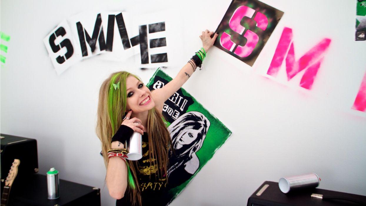 AVRIL LAVIGNE pop pop-punk pop-rock    gd wallpaper