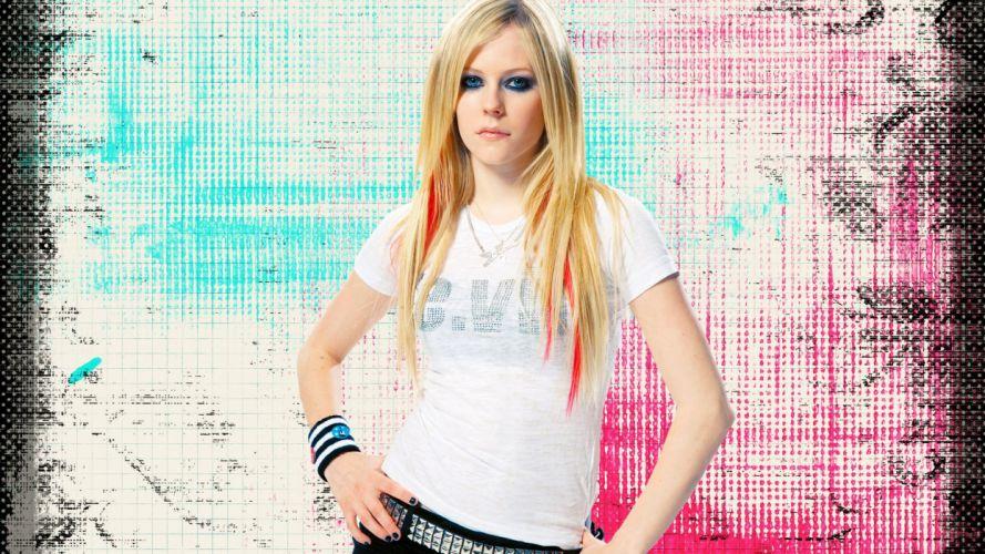 AVRIL LAVIGNE pop pop-punk pop-rock f wallpaper