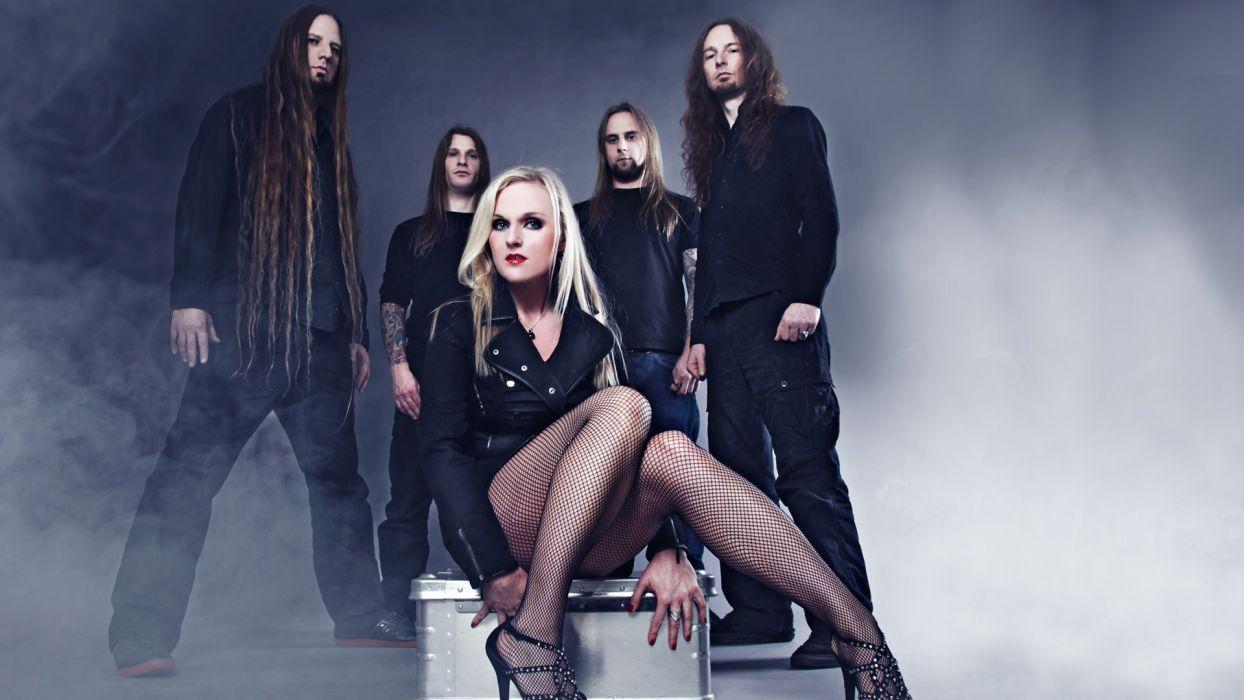 LEAVES EYES symphonic metal Gothic folk heavy      g wallpaper