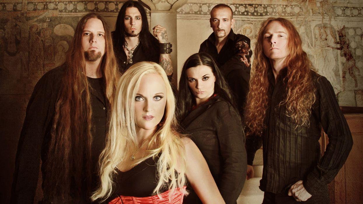 LEAVES EYES symphonic metal Gothic folk heavy    f wallpaper