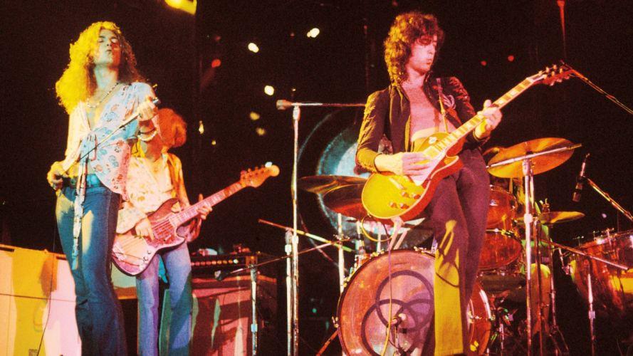 LED ZEPPELIN classic hard rock guitar guitars concert concerts wallpaper