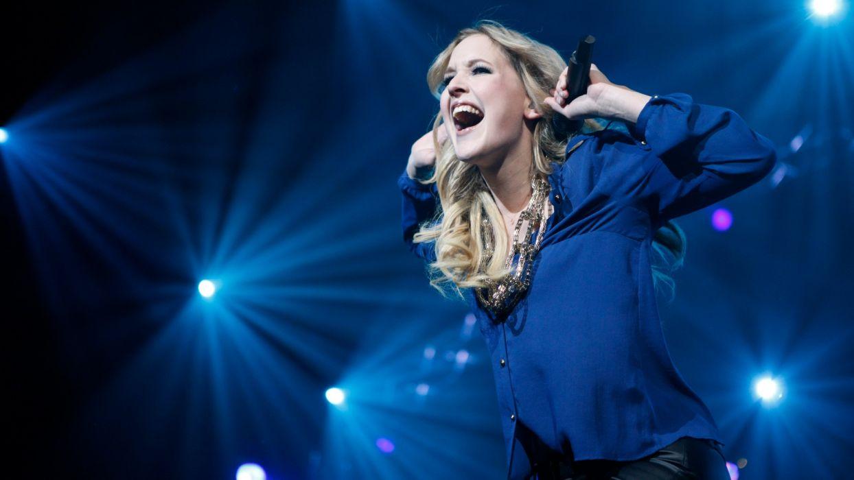 LEONIE MEIJER pop soft-rock microphone concert concerts wallpaper