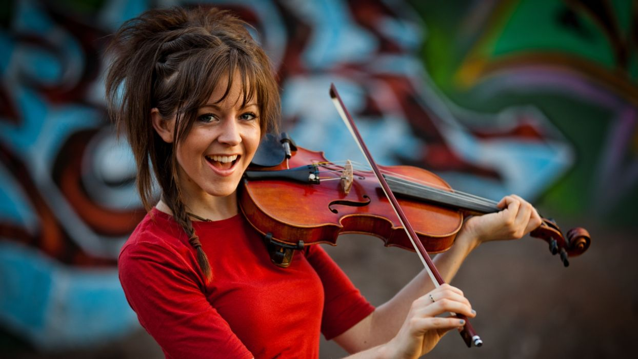 LINDSEY STIRLING Classical-crossover classical hip hop electronic violin wallpaper
