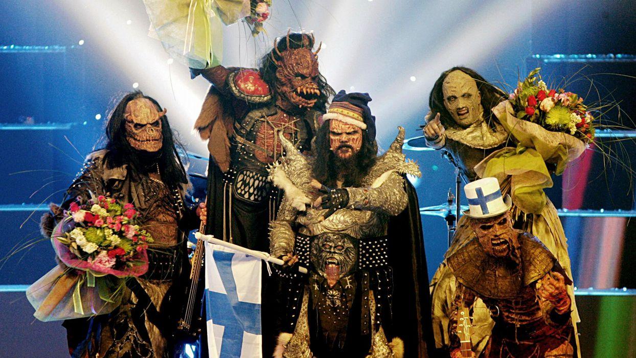 LORDI heavy metal concert concerts wallpaper