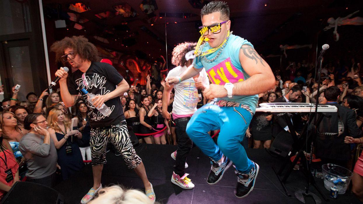 LMFAO dance pop hip hop concert concerts microphone wallpaper