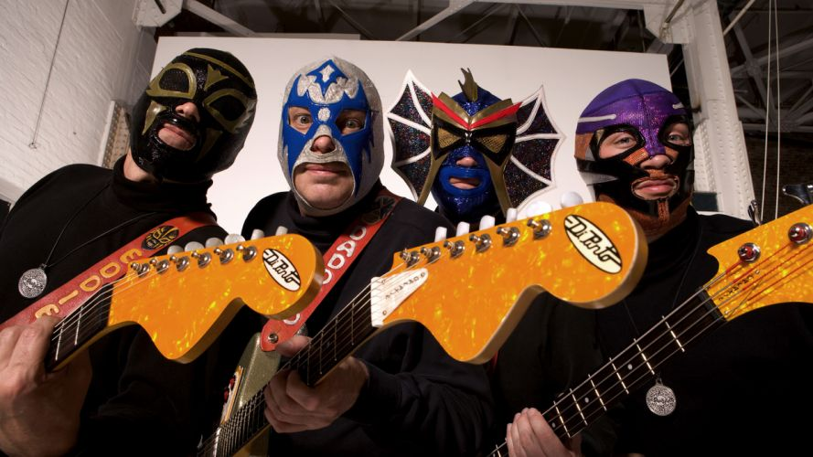LOS STRAITJACKETS insrumental rock guitar guitars wallpaper